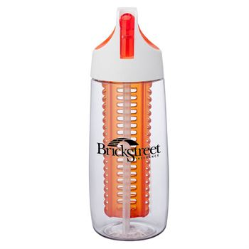 Cruise Tritan™ Bottle 28-Oz. with Flip Spout, Straw & Infuser - Personalization Available