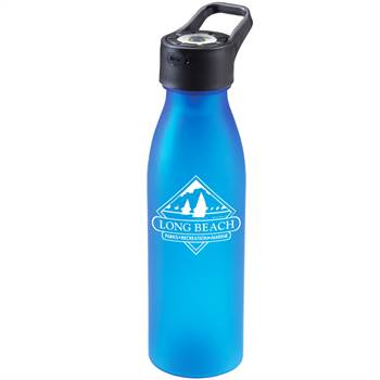 Silhouette Flashlight Bottle 24-Oz. - Personalization Available