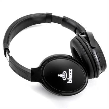 Light-Up Logo Bluetooth® Headphones - Personalization Available