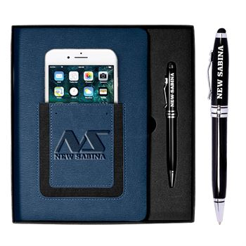 Roma Journal & Executive Stylus Pen 2-Piece Set - Personalization Available