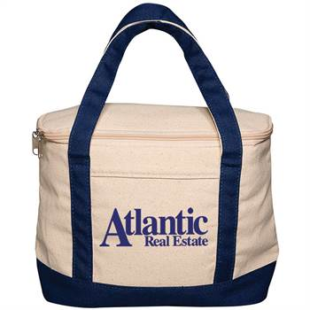 Cotton Cooler Lunch Tote - Personalization Available
