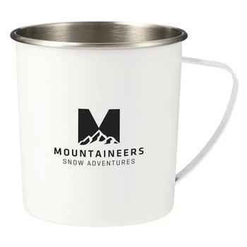 Atlas Metal Camping Mug 16-Oz. - Personalization Available