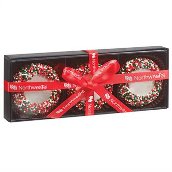 Belgian Chocolate Oreo® Gift Box - 3 Pieces - Personalization Available