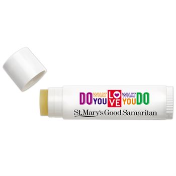 Do What You Love, Love What You Do Themed Lip Balm - Full Color Personalization Available