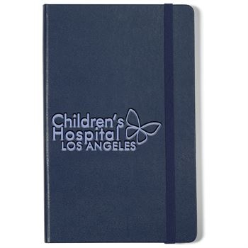 Moleskine® Hard Cover Ruled Large Notebook - Debossed Personalization Available