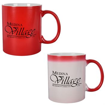 Color Changing Ceramic Mug 11 oz. - Personalization Available