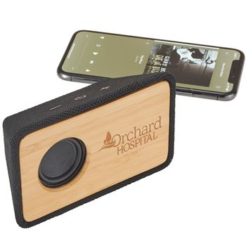 Rustic Bamboo Bluetooth® Speaker - Personalization Available