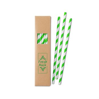 Paper Straw Set - Personalization Available
