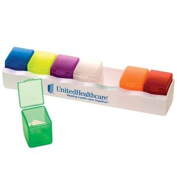 7-Day Pill Box - Multi-Color