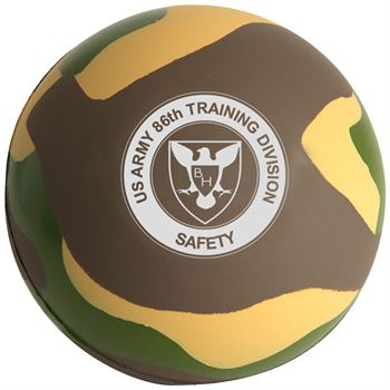 Camo Stress Ball - Personalization Available