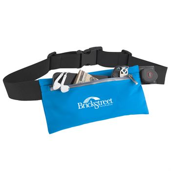 Rechargeable Light-Up Fitness Waist Pouch - Personalization Available