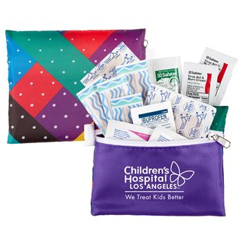 We Care 15-Piece First Aid Kit - Personalization Available