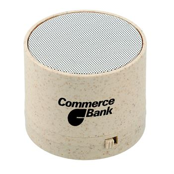 Wheat Straw Bluetooth® Speaker - Personalization Available