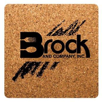 Square Cork Coaster - Personalization Available