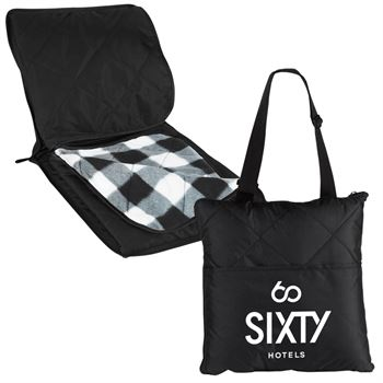 Ultimate Stadium Blanket Tote - Personalization Available
