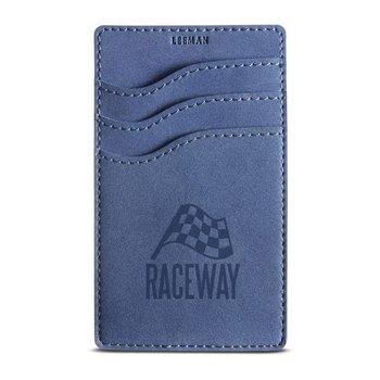 Nuba RFID 3 Pocket Phone Wallet - Personalization Available