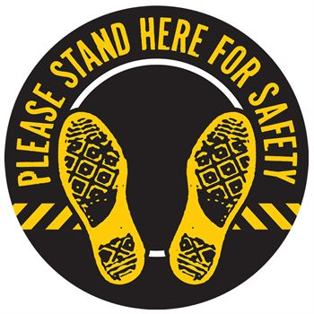 Stand Here For Safety 18
