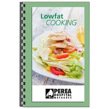 Lowfat Cooking Cookbook - Personalization Available