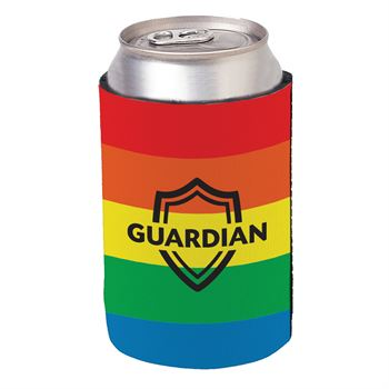 Cheers With Pride Rainbow Handy Hugger - Personalization Available