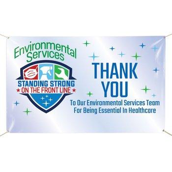 Environmental Services 5' x 3' Vinyl Banner