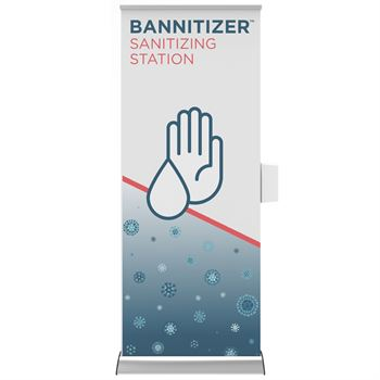 Bannitizer Sanitizing Station - Personalization Available