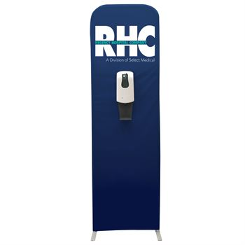 Sanitizer Station Floor Display - Personalization Available