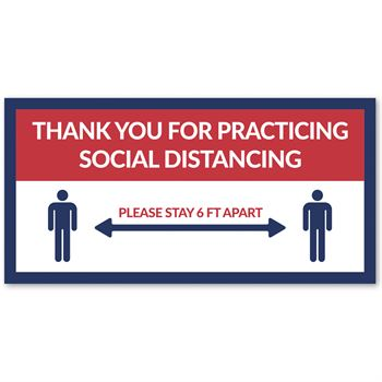 Thank You For Practicing Social Distancing 12