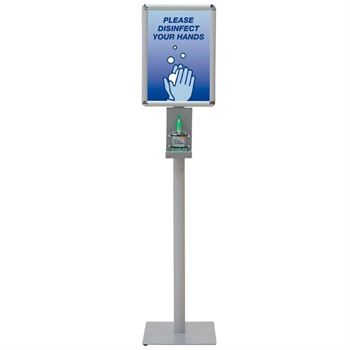 Please Disinfect Your Hands Deluxe Hand Sanitizer Stand