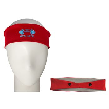 Cooling Headband with Mask Support - Personalization Available