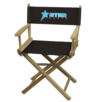 Table-Height Director's Chair - Personalization Available