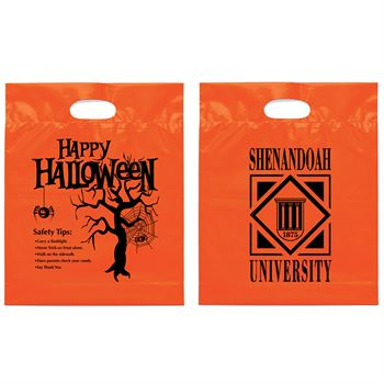 Happy Halloween Non-Woven Die Cut Bag - Personalization Available