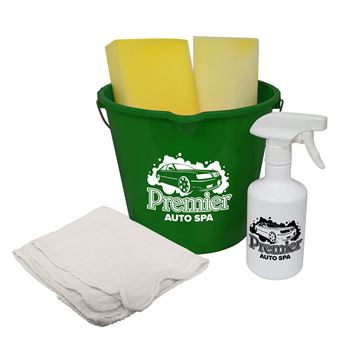 Cleaning Kit And Spray Bottle - Personalization Available
