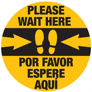 Please Wait Here - English/Spanish 18