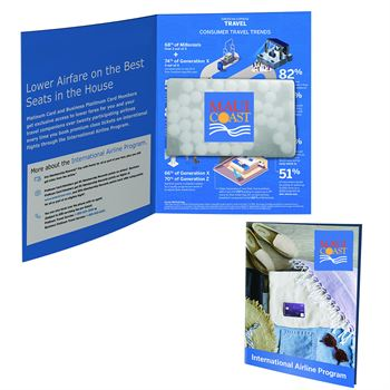 Greeting Card with Rectangle Credit Card Mints - Personalization Available