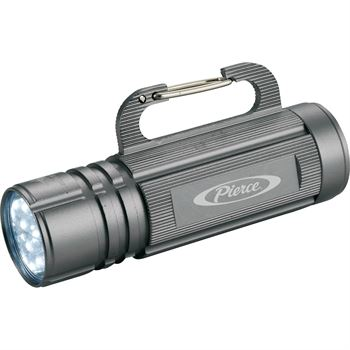High Sierra Carabiner Hook Flashlight - Personalization Available