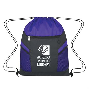 Ripstop Drawstring Bag - Personalization Available