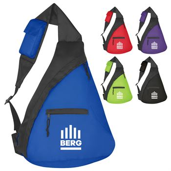 Budget Sling Backpack - Personalization Available