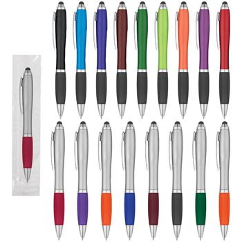 Satin Stylus Pen - Single Use - Individually Wrapped