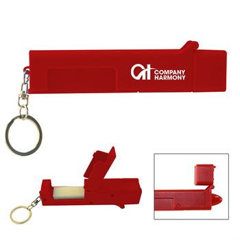 Sanitary Door Opener Touch Tool Keychain - Personalization Available