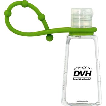 Trapezoid Hand Sanitizer with Grip - Full Color Personalization Available