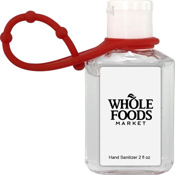 Travel 2 oz Hand Sanitizer With Grip - Full Color Personalization Available