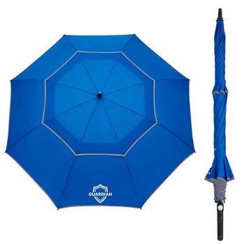Auto Open Reflective Golf Umbrella 64