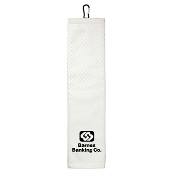 3.5lb./doz 5.25x22in Scrubber Golf Towel -��Personalization Available