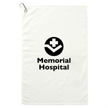 3.5 lb./doz 16x25in Terry Golf Towel -�Personalization Available
