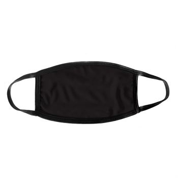 2-Ply 100% Polyester Face Mask With Copper & Silver and Antimicrobial Additive - No Personalization