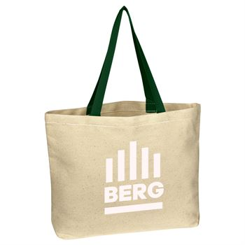 Natural Cotton Canvas Tote Bag-Personalization Available