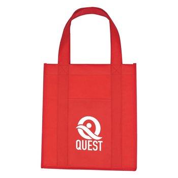 Matte Laminated Non-Woven Shopper Tote Bag-Personalization Available
