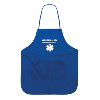Non-Woven Full Apron - Personalization Available