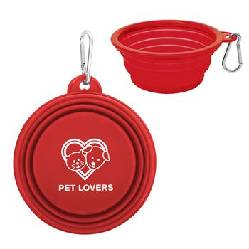 Collapsible Pet Bowl - Personalization Available