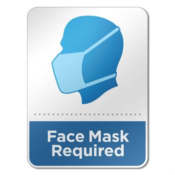 Face Mask Required Reminder Sign